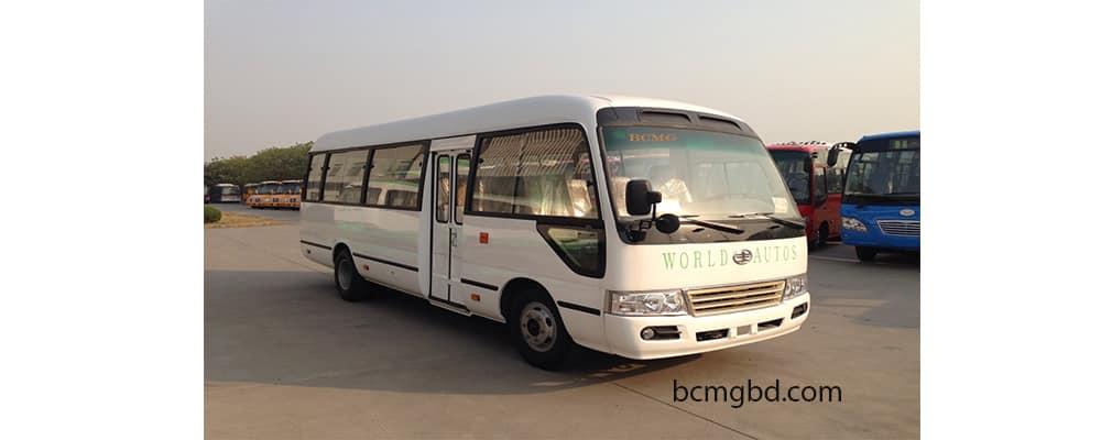 Tourist Ac bus rent Dhaka
