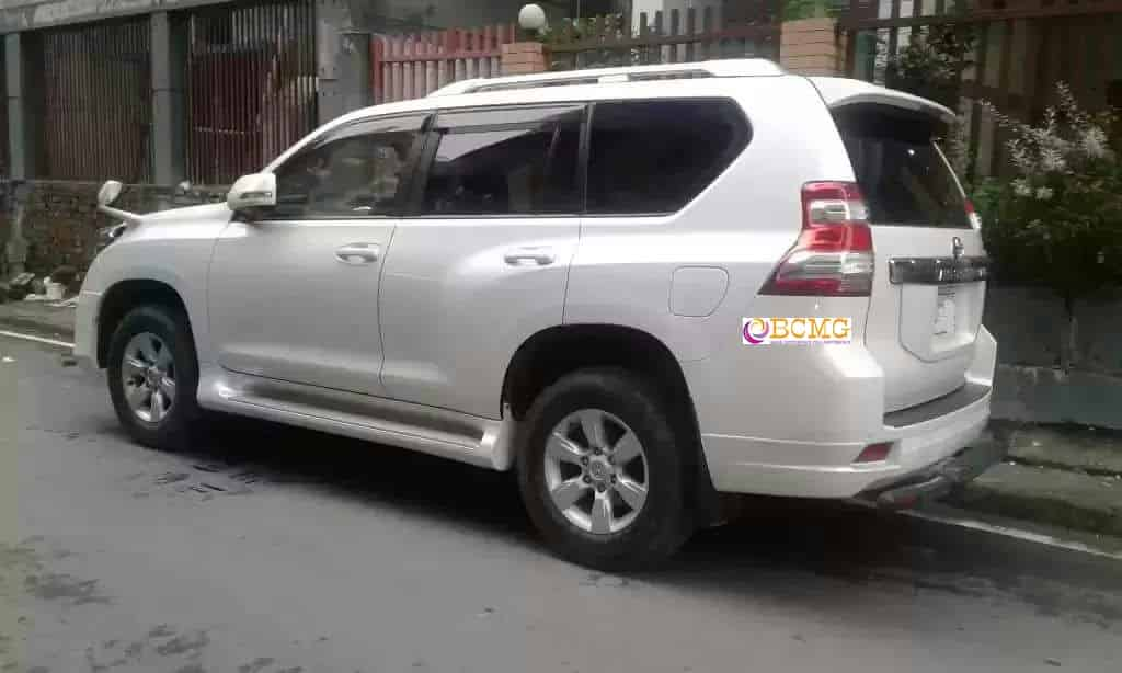BCMG Ltd provide Toyota Land Cruiser Prado rental in Paltan Dhaka