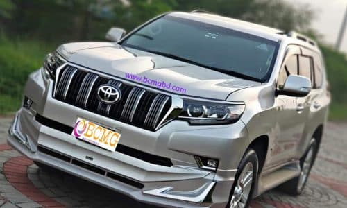 BCMG Ltd provide Toyota Land Cruiser Prado rental in Motijheel Dhaka