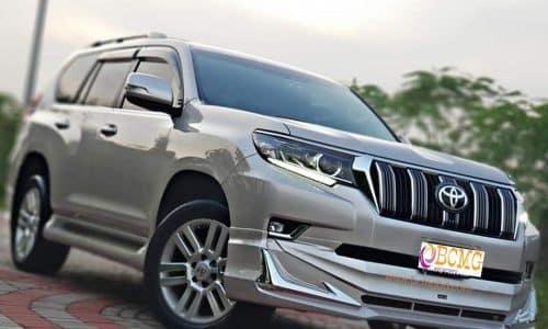 BCMG Ltd provide Toyota Land Cruiser Prado rental in Ramna Dhaka