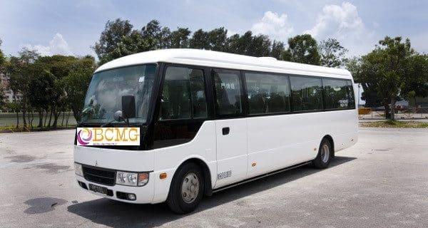 Tourist bus rental service in Dhaka Bangladesh