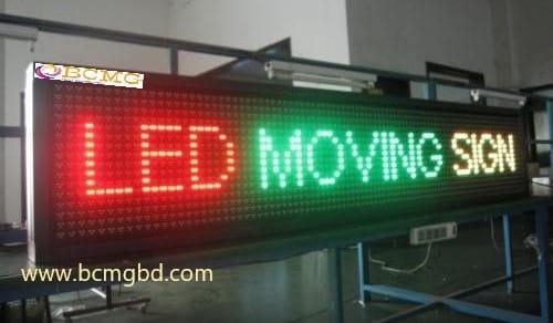 Led scrolling massage boards sale in Dhaka Bangladesh