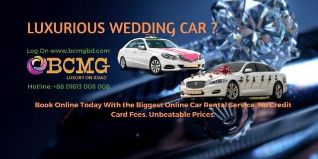 Luxury Wedding Car Hire Dhaka Bangladesh