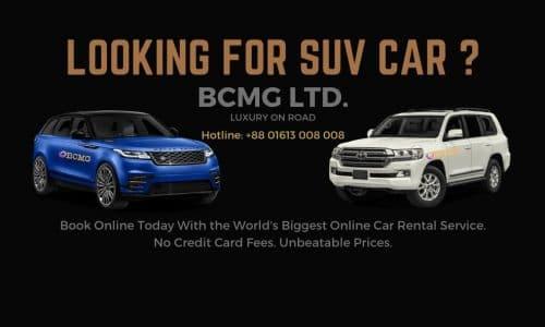 BCMG Ltd provide Toyota Land-cruiser VTX rental in Gazipur Dhaka
