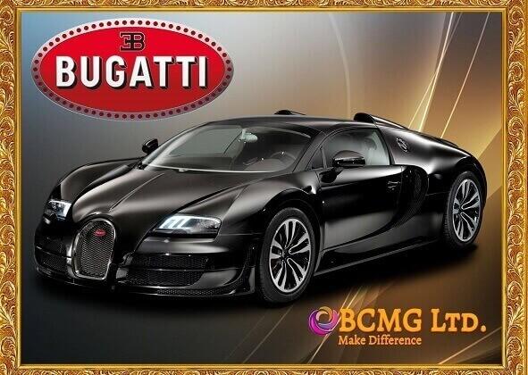 Bugatti car rental service in Uttara