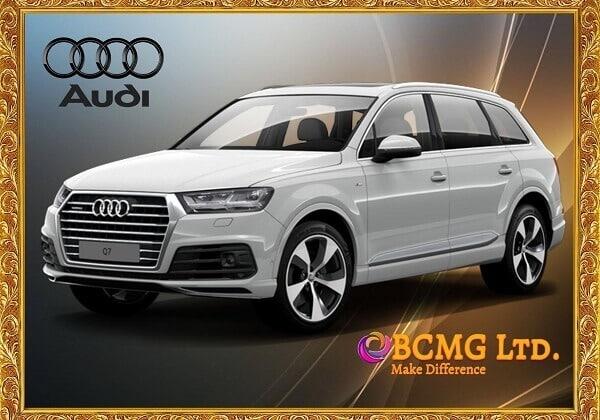 Audi car rental service in Uttara