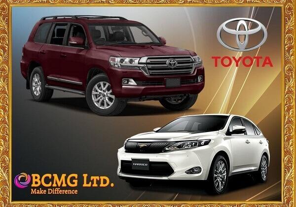 Toyota Car rental service in Uttara Dhaka