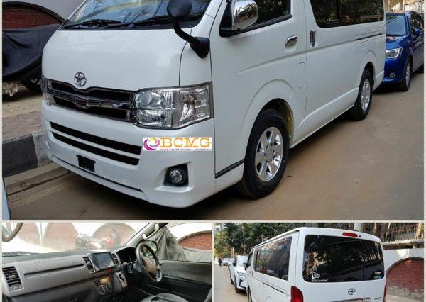 Hourly Car Rental >> Toyota Hiace Hourly Car Rental In Dhaka Bangladesh Bcmgbd